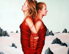 1-ewa-pronczuk-kuziak-siostry-100x120cm-olej-na-plotnie-2014