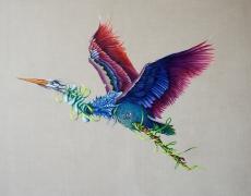 Heron, The Still Life series, oil on canvas, 120x140 cm, 2015r.jpg