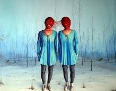 ewa-pronczuk-kuziak-siostry-ii-olej-na-plotnie-120x120cm-2014